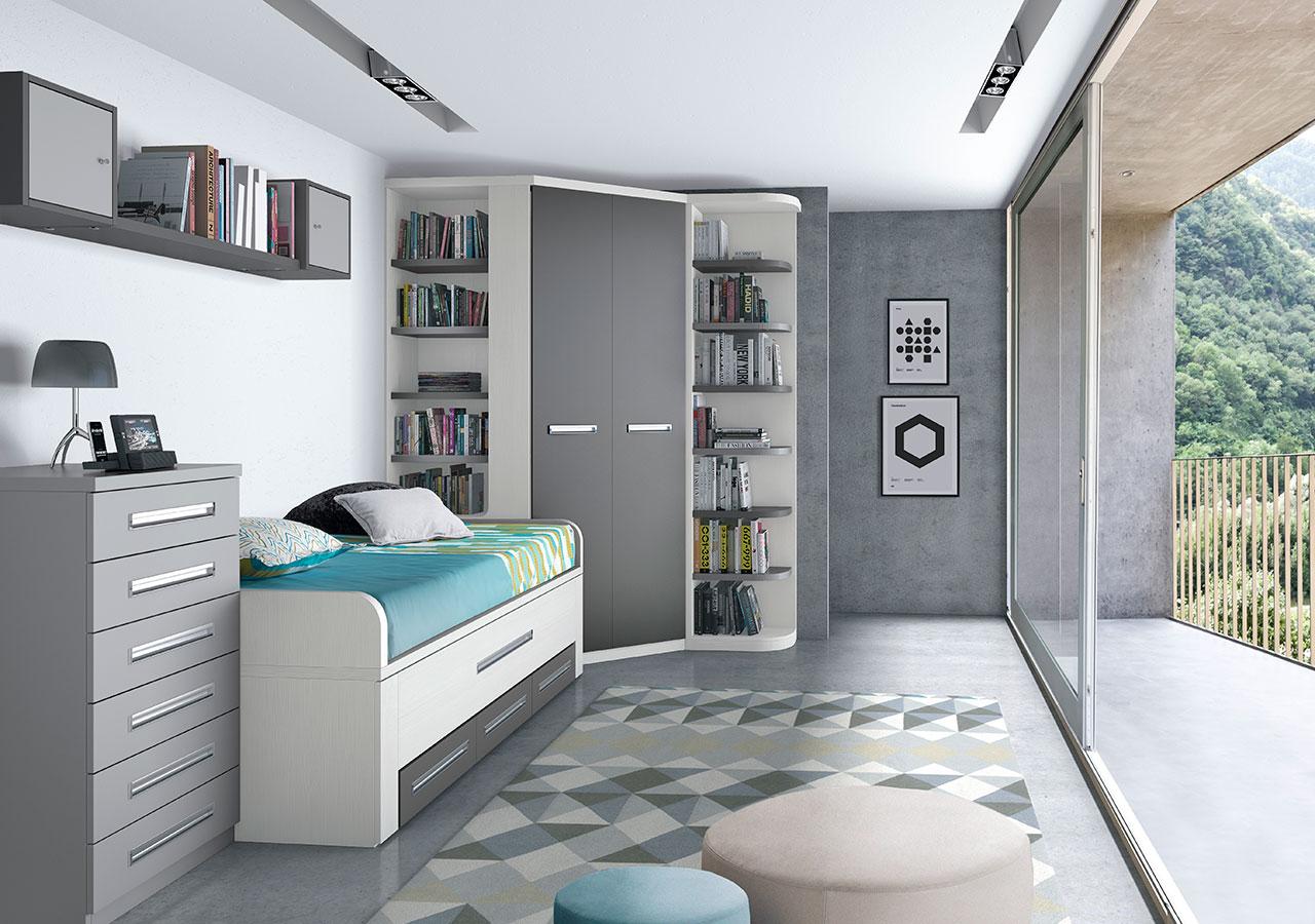 Dormitorios juveniles de calidad al mejor precio industrias rodrigo - Dormitorios juveniles almeria ...
