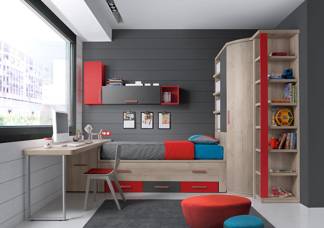 Dormitorios juveniles de calidad al mejor precio for Dormitorios juveniles modernos precios