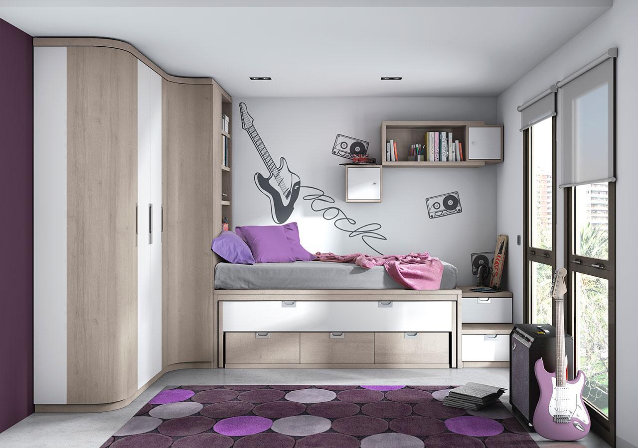 Dormitorios juveniles de calidad al mejor precio - Imagenes para dormitorios ...