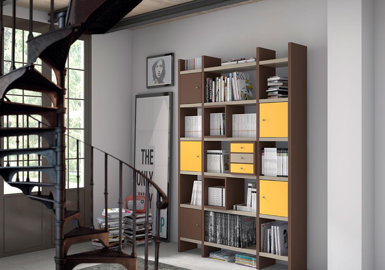 Muebles para despachos y oficinas y estanter as juveniles de dormitorio - Estanterias juveniles ...